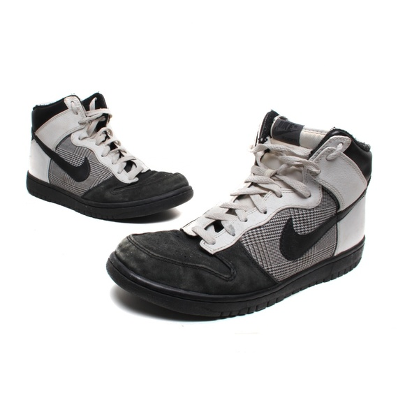 free shipping 870ba 2b72b Nike Dunk High Premium (black / white)